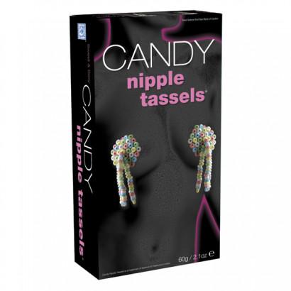 Candy Nipple Tassels - Senzační jedlé bonbónky na bradavky