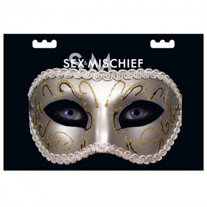 Sex & Mischief Masquerade Mask - Luxusní maska na oči