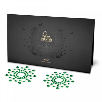 Bijoux Indiscrets Mimi Emerald - ozdoby na bradavky
