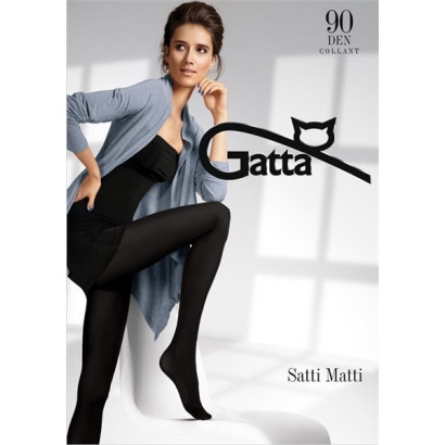 Gatta Satti Matti 90 - Punčochové kalhoty Nero