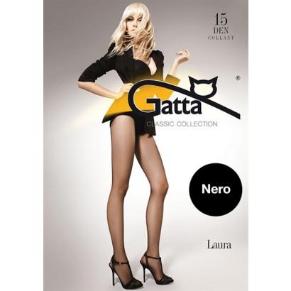 Gatta Laura 15 - Punčochové kalhoty Nero Černá