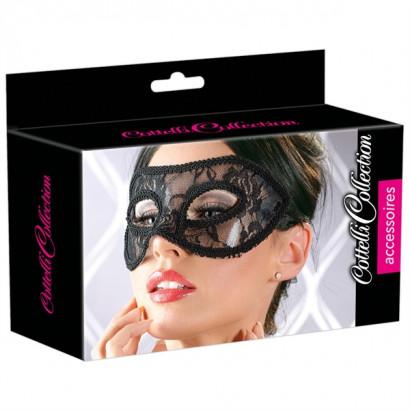 Cottelli Lace Mask - Maska na oči 2480271