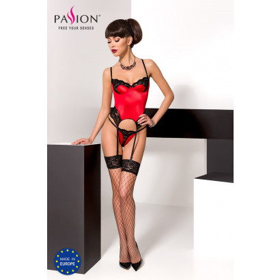 Passion Polina Corset Red