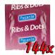Pasante Ribs & Dots 144ks