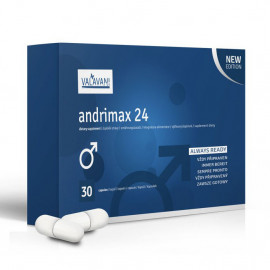 Andrimax 24 - Promo package 20 + 10 Capsules Free