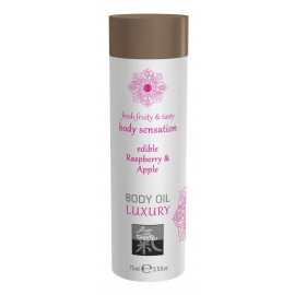 Shiatsu Luxury Body Oil Edible Raspberry & Apple 75ml