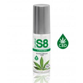 Stimul8 Cannabis Relaxing Lubricant Hybrid 50ml