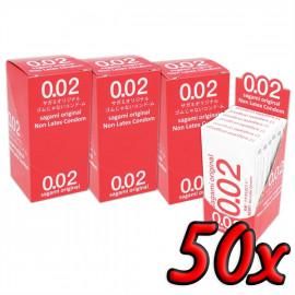 Sagami Original 0.02 50 pack