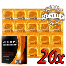 Vitalis Premium Stimulation & Warming 20 pack