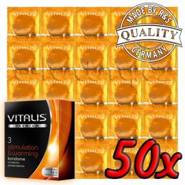 Vitalis Premium Stimulation & Warming 50 pack