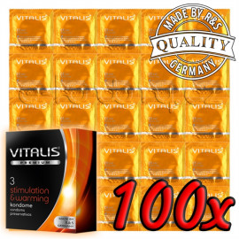 Vitalis Premium Stimulation & Warming 100 pack