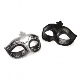 Fifty Shades of Grey Masquerade Mask Twin pack - Set Of Two Luxury Eye Masks