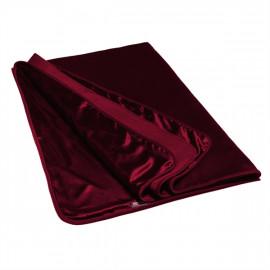Liberator Fascinator Throw Velvish Merlot - Luxury Bed Red Plaid Prez