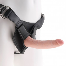 """Pipedream King Cock Strap-on Harness w/ 7"""" Cock - Strap On Penis 18cm Body"""