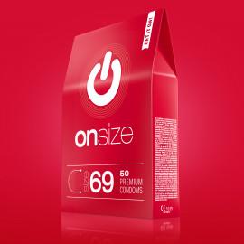 Onsize 69 Premium Condoms 50 pack