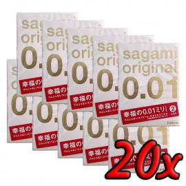 Sagami Original 0.01 20 pack