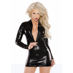 Allure Sexy Siren Dress Black