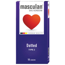 Masculan Dotted 10 pack