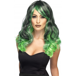 Fever Ombre Wig Bewitching Green & Black 44257
