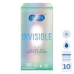Durex Invisible Close Fit 10 pack
