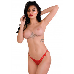 Daring Intimates Gina Spicy V-String Red