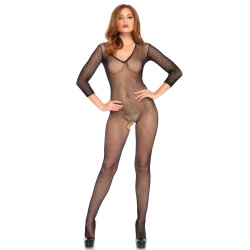 Leg Avenue V Front Bodystocking 8378 Black