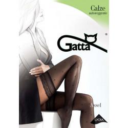 Gatta Assel 03 - Thigh High Stockings Nero Black