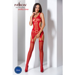 Passion Bodystocking BS066 Red