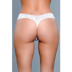 Be Wicked V-Cut Lace Panties White