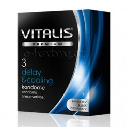 Vitalis Premium Delay & Cooling 3 pack