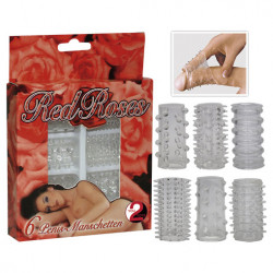You2Toys Red Roses - Set Stalls Penis 6 pack