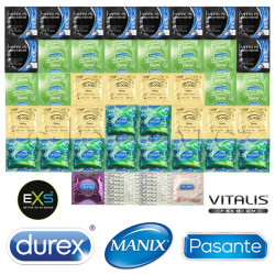 Deluxe Delay Mix Package - 44 Condoms For Long Lovemaking