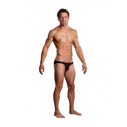 Male Power Pouch Bikini Black
