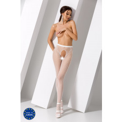 Passion S019 Tights White