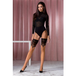 Passion ST113 Stockings 20 Den Beige-Gold