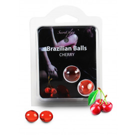 Secret Play Brazilian Balls Cherry 2 pack