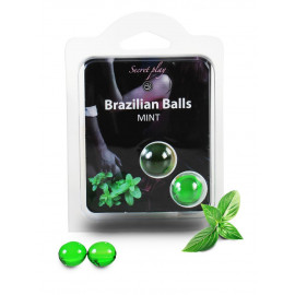 Secret Play Brazilian Balls Mint 2 pack