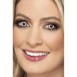 Smiffys Accessoreyes Rim Red