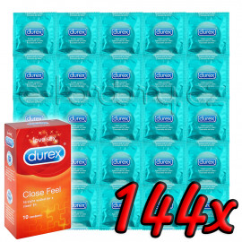 Durex Close Feel 144 pack
