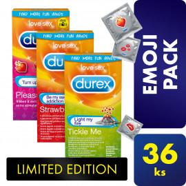 Durex Emoji Package Limited Edition 36 pack