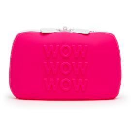 Happy Rabbit WOW Storage Zip Bag Small Pink