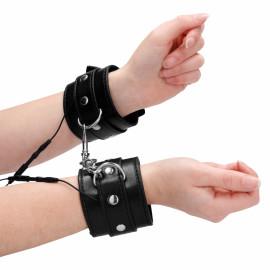 ElectroShock Electro Handcuffs Black