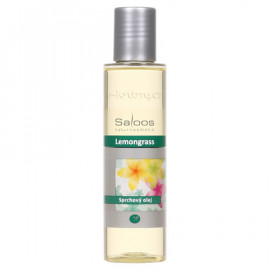 Saloos Shower Oil - Lemongrass 125ml
