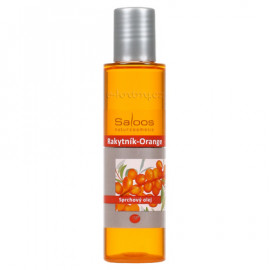 Saloos Shower Oil - Orange-Sea Buckthorn 125ml