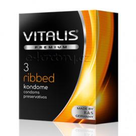 Vitalis Premium Ribbed 3 pack