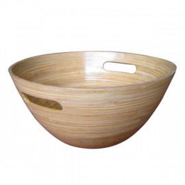 Nuru Bamboo Bowl for massage