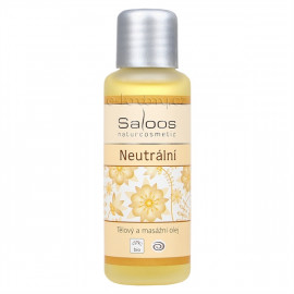 Saloos Neutrální - Bio Body and Massage Oil 50ml