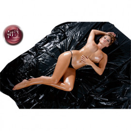 Fetish Collection Soft Sheet - Sheet Of Soft Vinyl Black