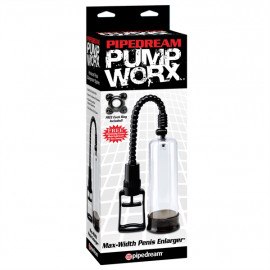 Pipedream Pump Worx Max-Width Penis Enlarger - Vacuum Pump