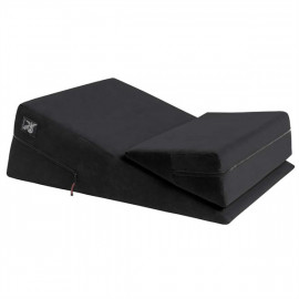 Liberator Wedge/Ramp Combo Black - Erotic Love Pad Black